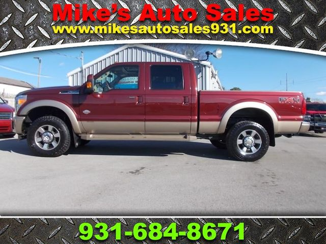 2012 Ford Super Duty F-350 SRW Pickup King Ranch Shelbyville, TN