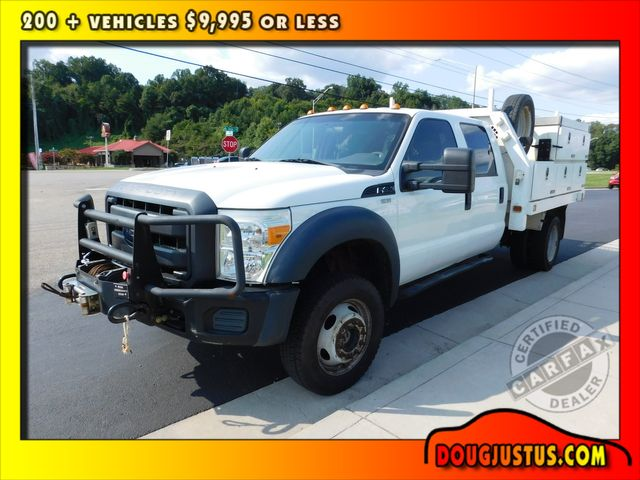 2012 Ford Super Duty F-450 DRW Chassis Cab XL