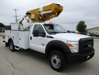 2012 Ford F550 6.7 DSL BUCKET BOOM TRUCK 45FT 116K Lake In The Hills, IL