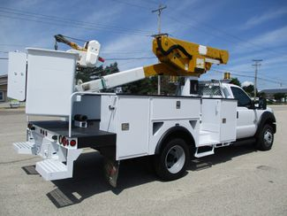 2012 Ford F-550 4X4 BUCKET BOOM TRUCK 45FT 6.7 DIESEL Lake In The Hills, IL 3