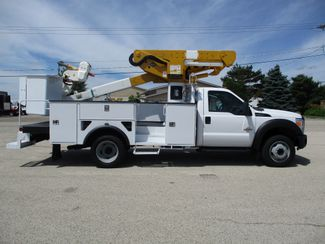 2012 Ford F-550 4X4 BUCKET BOOM TRUCK 45FT 6.7 DIESEL Lake In The Hills, IL 4