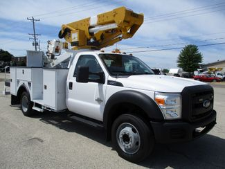 2012 Ford F-550 4X4 BUCKET BOOM TRUCK 45FT 6.7 DIESEL Lake In The Hills, IL 5