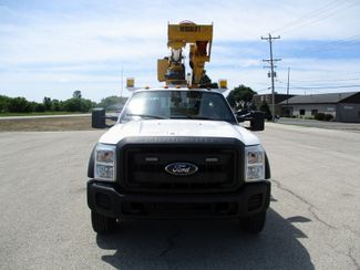2012 Ford F-550 4X4 BUCKET BOOM TRUCK 45FT 6.7 DIESEL Lake In The Hills, IL 6