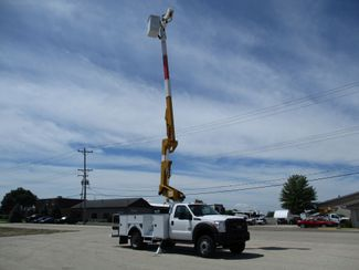 2012 Ford F-550 4X4 BUCKET BOOM TRUCK 45FT 6.7 DIESEL Lake In The Hills, IL 44