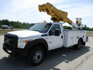 2012 Ford F-550 4X4 BUCKET BOOM TRUCK 45FT 6.7 DIESEL Lake In The Hills, IL