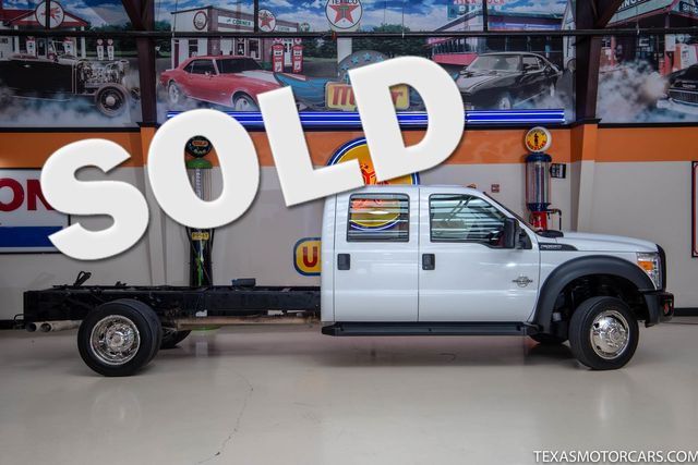 2012 Ford Super Duty F-550 DRW Chassis Cab XL 4x4