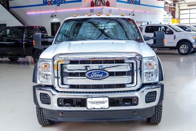 2012 Ford Super Duty F-550 DRW Chassis Cab XL 4x4 in Addison, Texas 75001