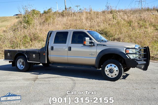 2012 Ford Super Duty F-550 DRW Chassis Cab XLT