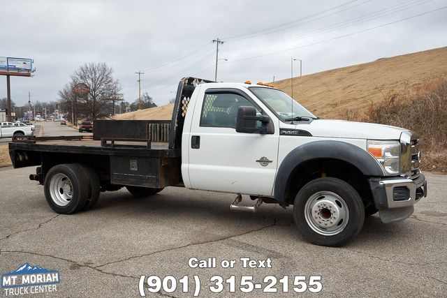2012 Ford Super Duty F-550 DRW Chassis Cab XL Flatbed