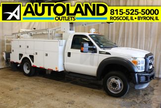 2012 Ford Super Duty F-550 Utility Bucket Truck XL in Roscoe, IL 61073