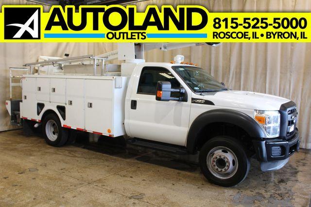 2012 Ford Super Duty F-550 Utility Bucket Truck XL