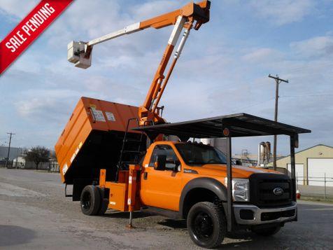 2012 Ford Super Duty F-550 XL 4X4 45' VERSALIFT MINI FORESTRY BUCKET TRUCK in Fort Worth, TX