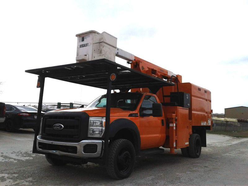2012 Ford Super Duty F-550 XL 4X4 45 VERSALIFT MINI FORESTRY BUCKET TRUCK  city TX  North Texas Equipment  in Fort Worth, TX