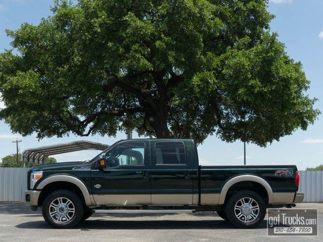 2012 Ford Super Duty F250 Crew Cab King Ranch FX4 6.7L Power Stroke 4X4