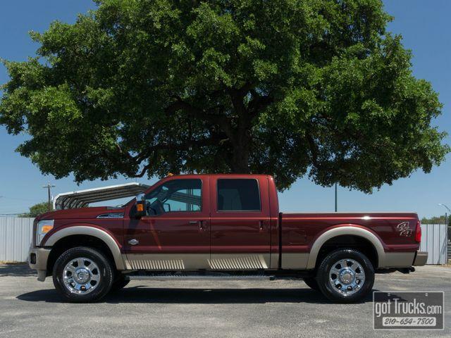 2012 Ford Super Duty F250 Crew Cab King Ranch 6.7L Power Stroke Diesel 4X4