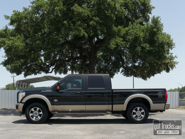 2012 Ford Super Duty F250 Crew Cab King Ranch 6.7L Power Stroke Diesel 4X4