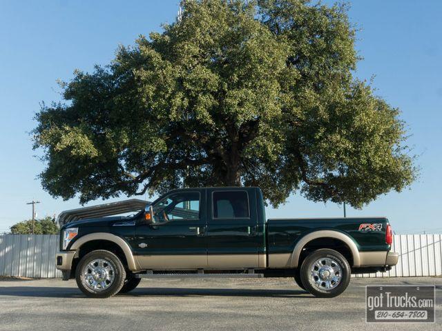 2012 Ford Super Duty F250 Crew Cab King Ranch 6.7L Power Stroke 4X4