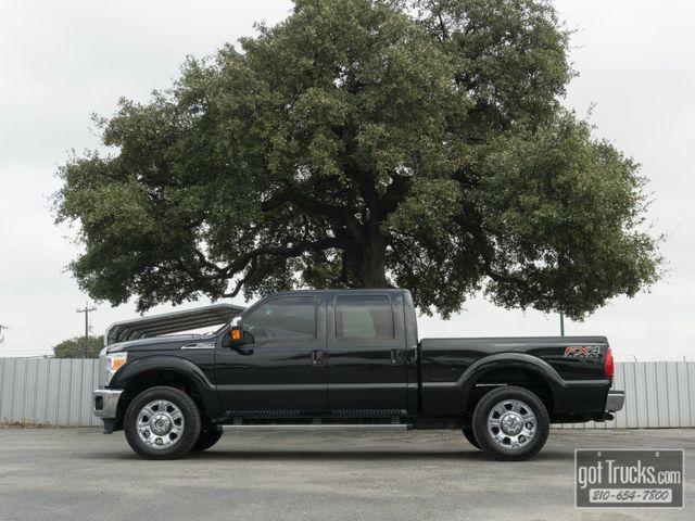 2012 Ford Super Duty F250 Crew Cab Lariat FX4 6.7L Power Stroke Diesel 4X4