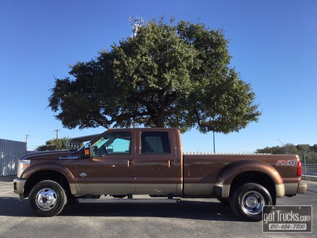 2012 Ford Super Duty F350 Crew Cab King Ranch FX4 6.7L Power Stroke 4X4