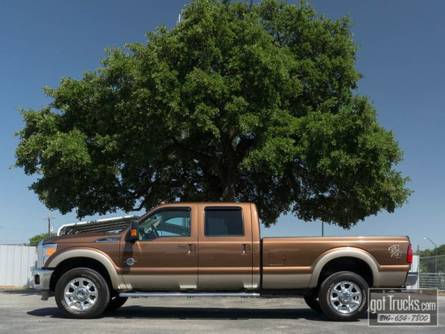 2012 Ford Super Duty F350 Crew Cab Lariat 6.7L Power Stroke Diesel 4X4