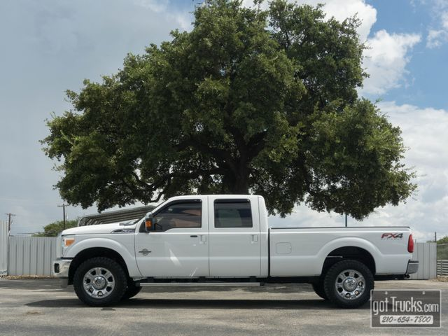 2012 Ford Super Duty F350 Crew Cab Lariat FX4 6.7L Power Stroke Diesel 4X4