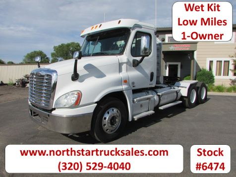 2012 Freightliner Cascadia 6x4 Day-Cab Semi Cab Chassis  in St Cloud, MN