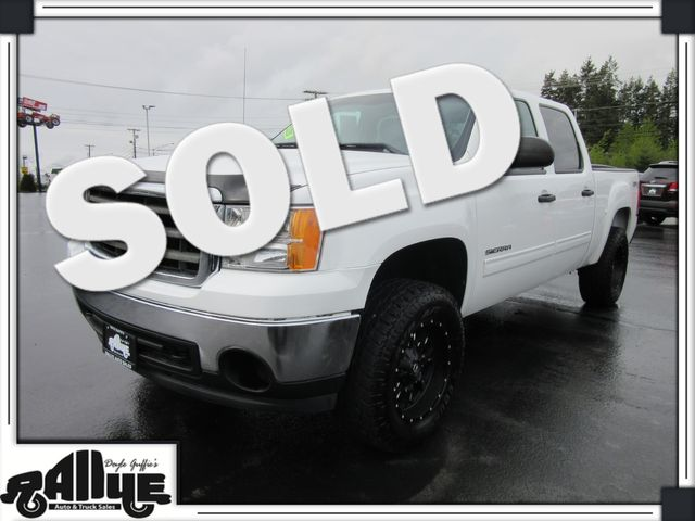 2012 GMC 1500 Sierra SLE C/Cab 4WD in Burlington, WA 98233