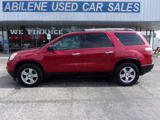 2012 GMC Acadia SL  Abilene TX  Abilene Used Car Sales  in Abilene, TX