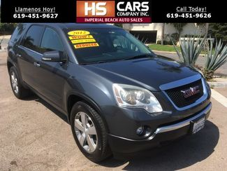 2012 GMC Acadia SLT Imperial Beach, California