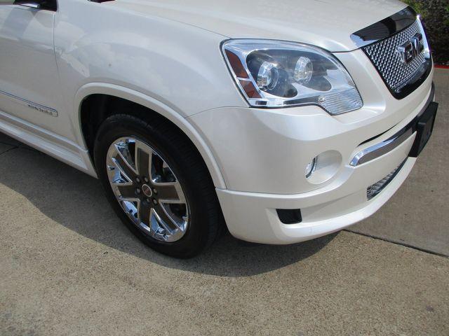 2012 GMC Acadia Denali 1 Owner Clean Car Fax in Plano, Texas 75074