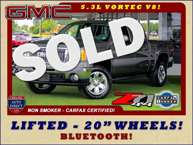 2012 GMC Sierra 1500 SLE Crew Cab 4x4 Z71 - LIFTED - Mooresville , NC