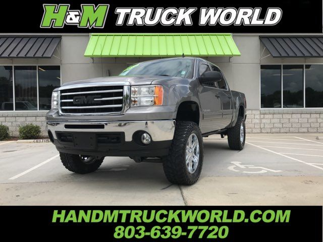 2012 GMC Sierra 1500 SLE 4X4 *LIFTED* *35'S* *AMP BOARDS* LOW MILES in Rock Hill, SC 29730