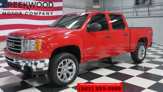 2012 GMC Sierra 1500 SLE 4x4 Z71 Red Chrome 20s New Tires Leveled NICE in Searcy, AR 72143