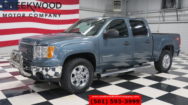 2012 GMC Sierra 1500 SLE 4x4 Z71 Blue Leather Chrome 18s 1 Owner CLEAN in Searcy, AR 72143