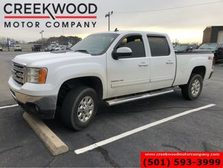 2012 GMC Sierra 2500HD SLT 4x4 Z71 Diesel Allison White Leveled Chrome18s in Searcy, AR 72143