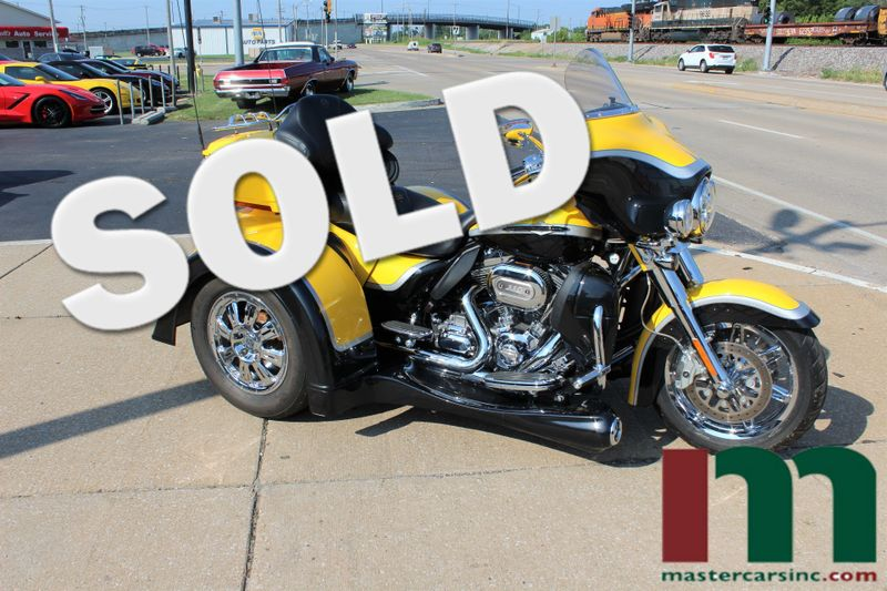2012 Harley-Davidson Electra Glide® CVO™ Ultra Classic® Tri-Glide Trike | Granite City, Illinois | MasterCars Company Inc. in Granite City Illinois