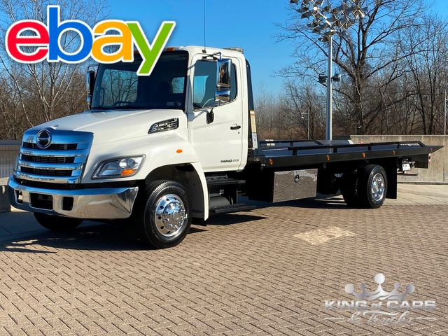 "2012 Hino 268 Turbo Diesel 2-CAR ROLLBACK ONLY 35K MILES 22'X102"" BED"