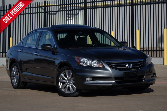 2012 Honda Accord EX-L* Sunroof* Leather* only 90k* EZ Finance** | Plano, TX | Carrick's Autos in Plano TX