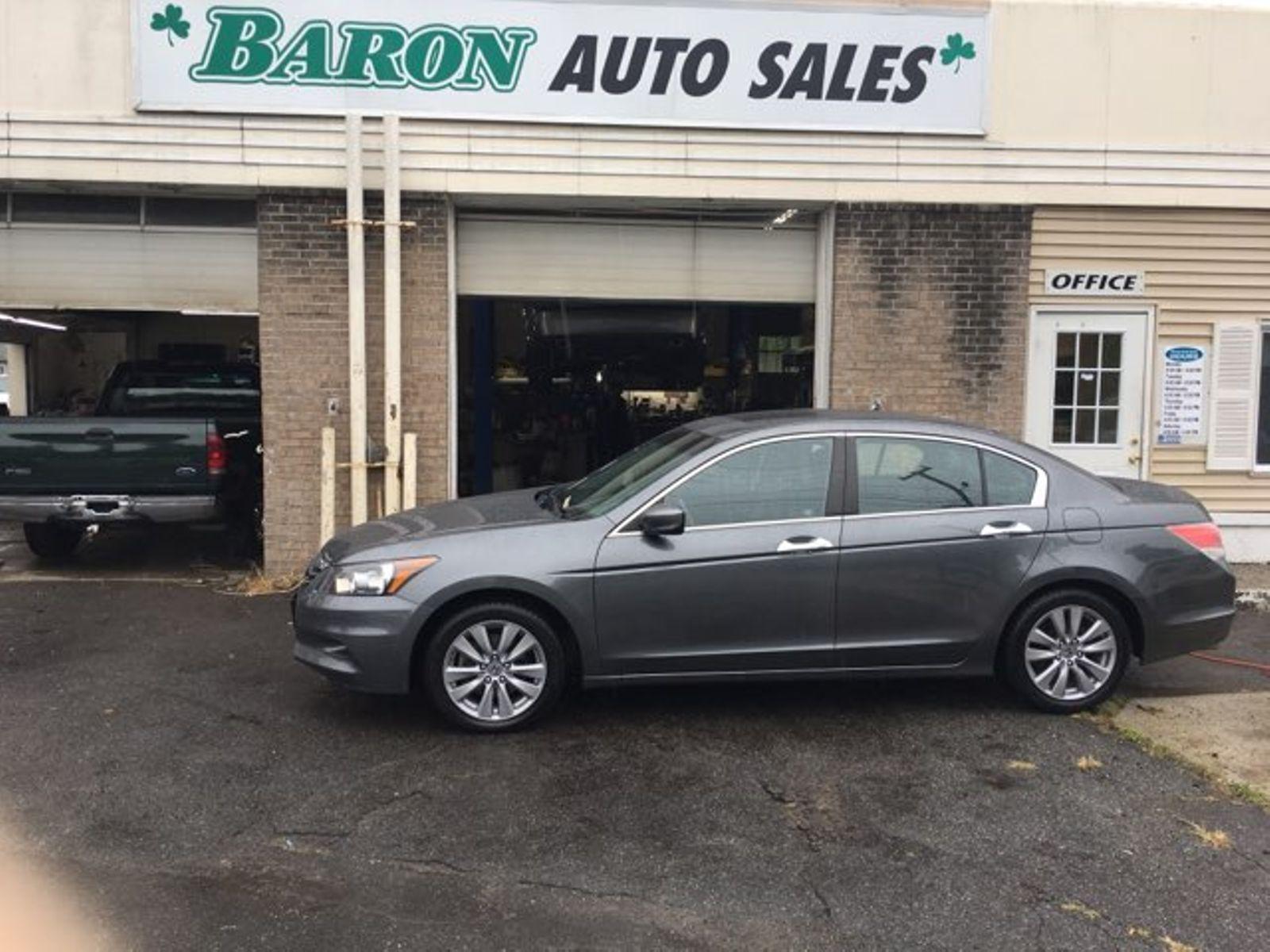 2012 Honda Accord EX L City MA Baron Auto Sales In West Springfield, ...