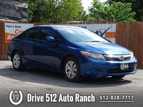 2012 Honda Civic LX in Austin, TX