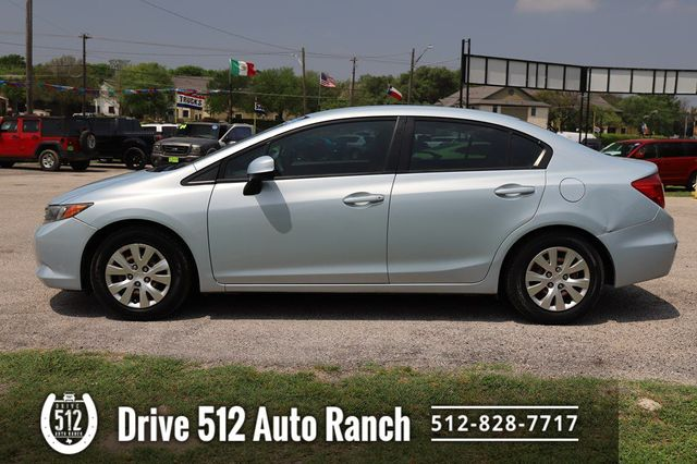 2012 Honda Civic LX in Austin, TX 78745