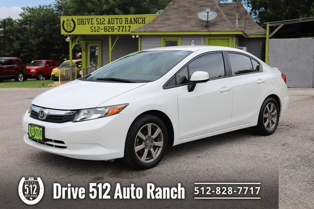 2012 Honda Civic LX in Austin, TX 78745
