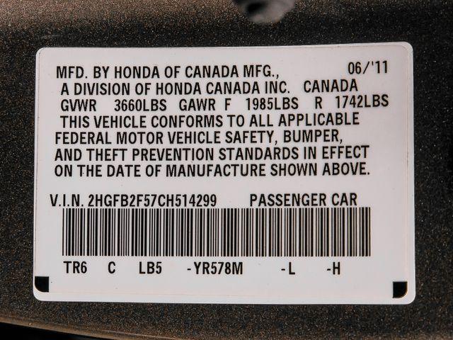 2012 Honda Civic LX Burbank, CA 25