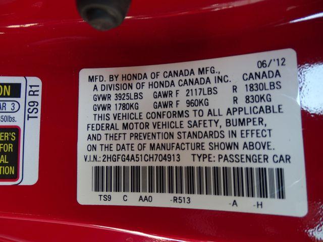 2012 Honda Civic Si Corpus Christi, Texas 32
