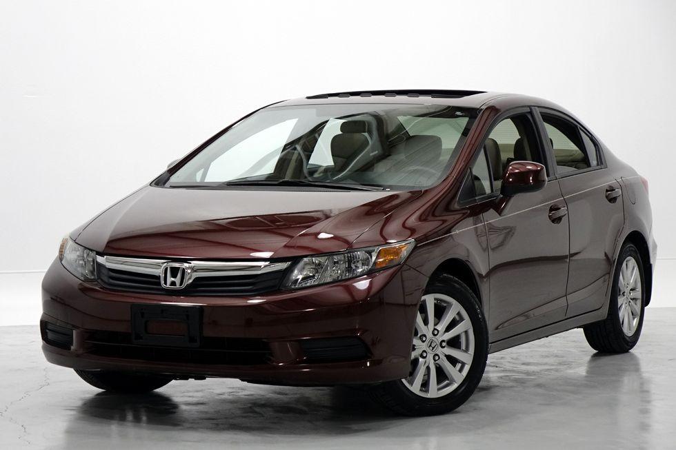 2012 Honda Civic EX-L Sedan Automatic Leather