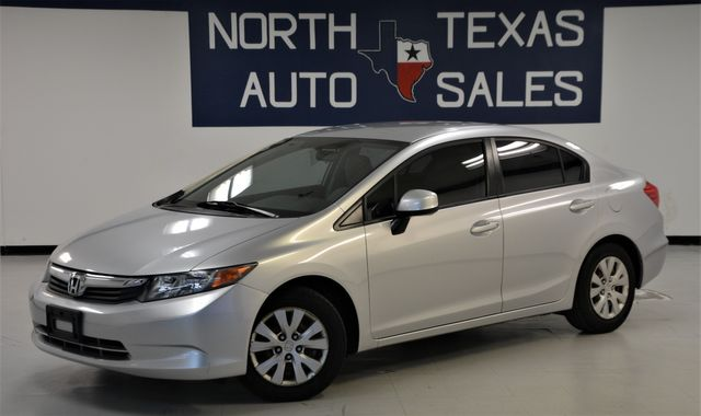 2012 Honda Civic LX in Dallas, TX 75247