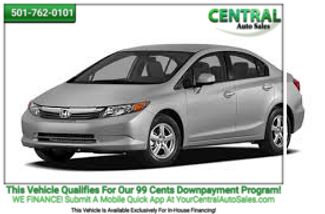 2012 Honda Civic HF | Hot Springs, AR | Central Auto Sales in Hot Springs AR