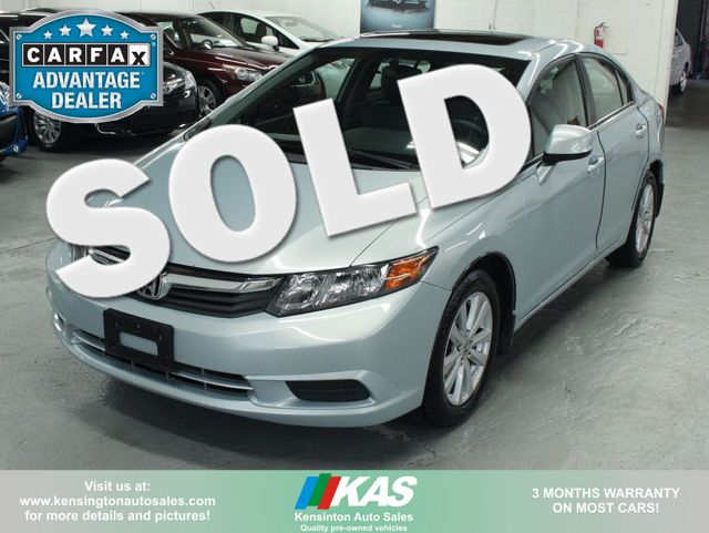 2012 Honda Civic EX Kensington, Maryland