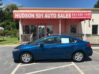 2012 Honda Civic LX | Myrtle Beach, South Carolina | Hudson Auto Sales in Myrtle Beach South Carolina
