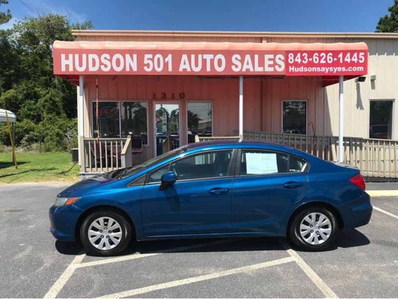 2012 Honda Civic LX | Myrtle Beach, South Carolina | Hudson Auto Sales in Myrtle Beach South Carolina